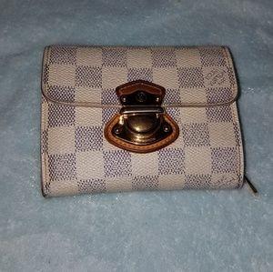 Authentic L. Vuitton Demier Azur Koala Wallet